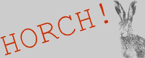 HorchNewsletter-Banner